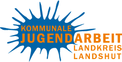 Logo der Kommunalen Jugendarbeit im Landkreis Landshut